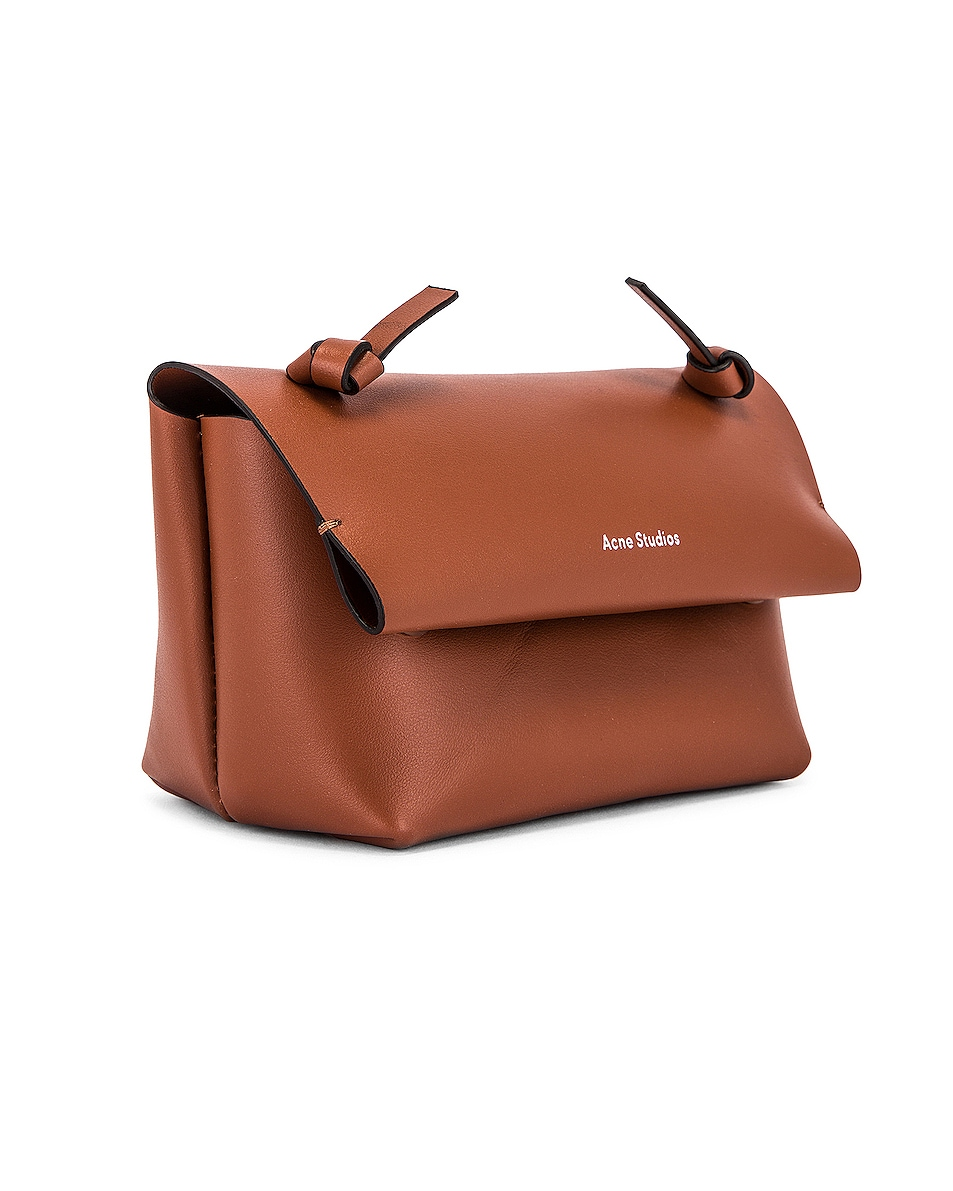 Image 4 of Acne Studios Mini Bag in Almond Brown