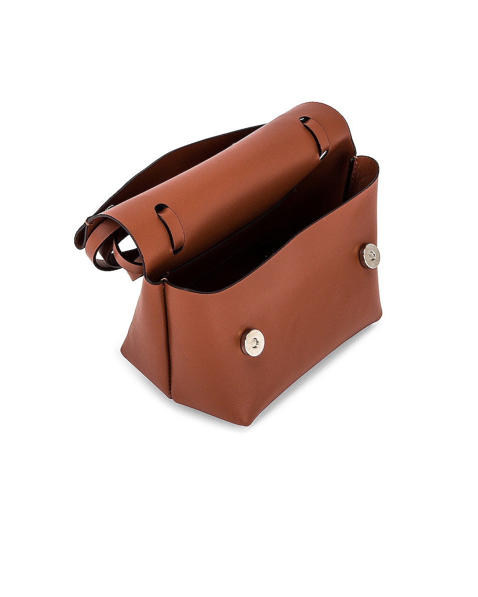 Image 5 of Acne Studios Mini Bag in Almond Brown