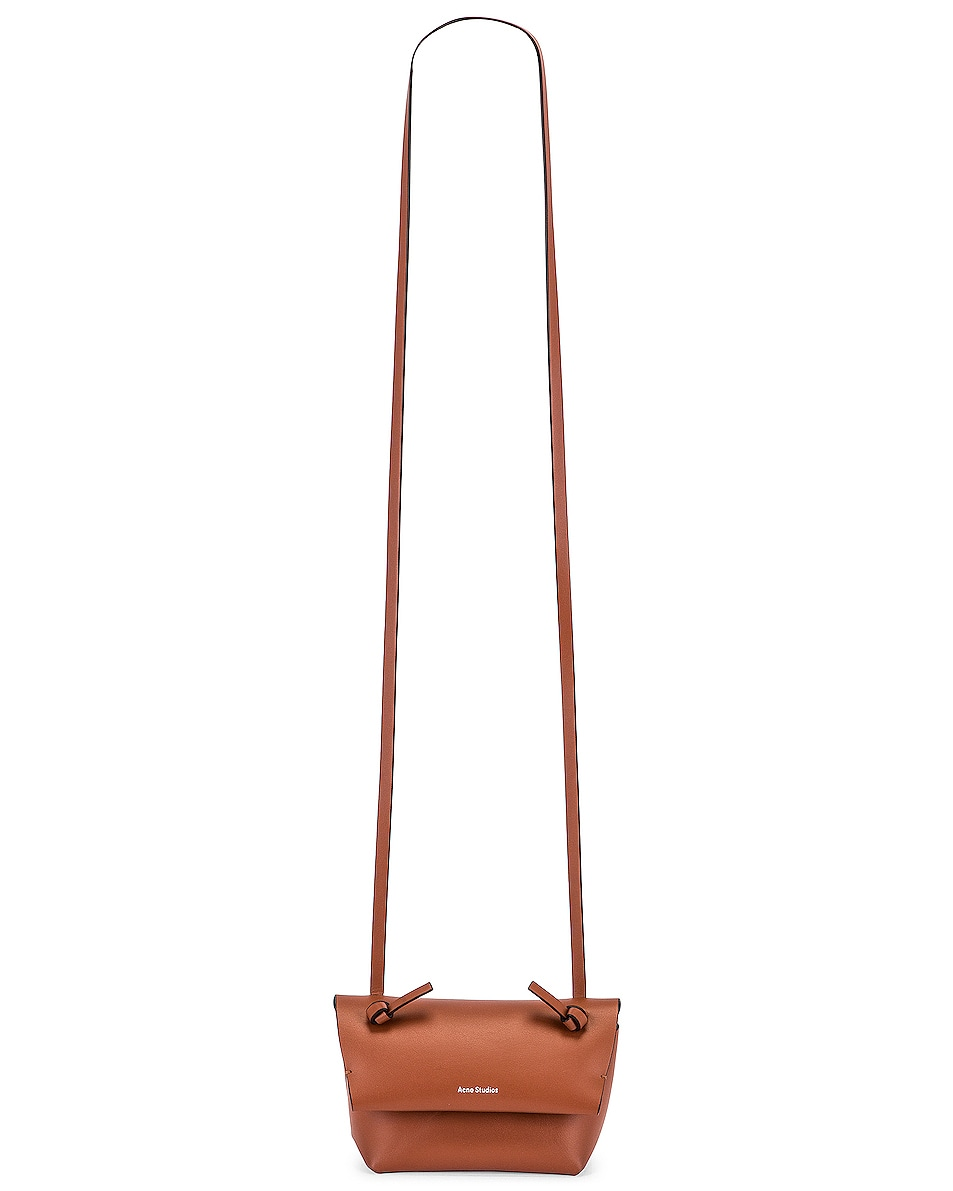 Image 6 of Acne Studios Mini Bag in Almond Brown