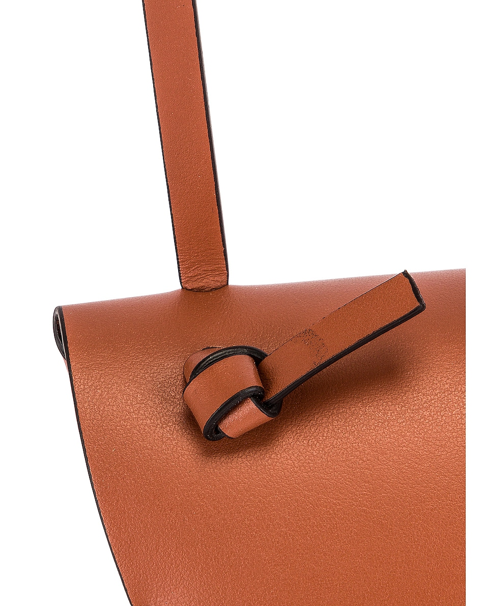 Image 8 of Acne Studios Mini Bag in Almond Brown