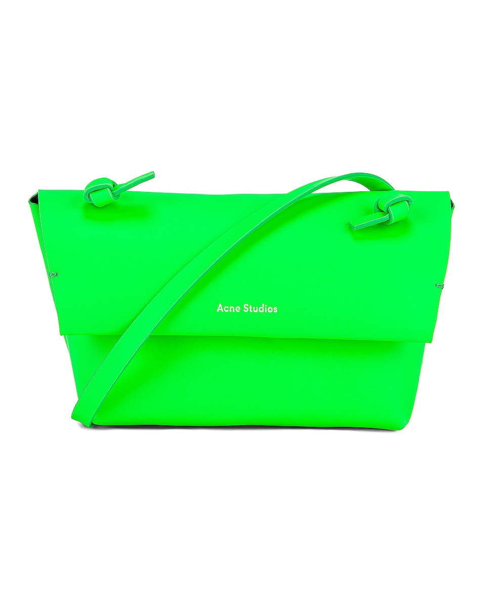 Image 1 of Acne Studios Mini Bag in Fluo Green