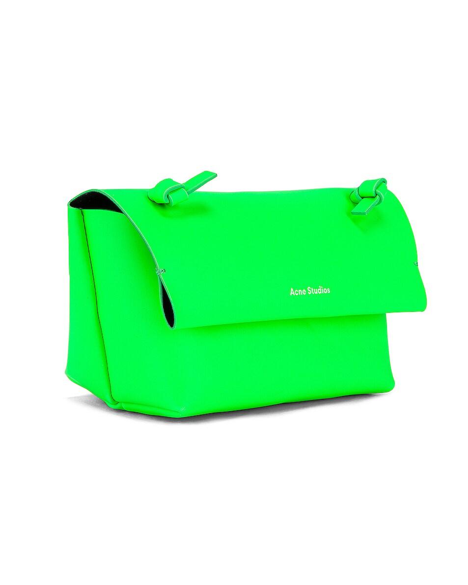Image 4 of Acne Studios Mini Bag in Fluo Green