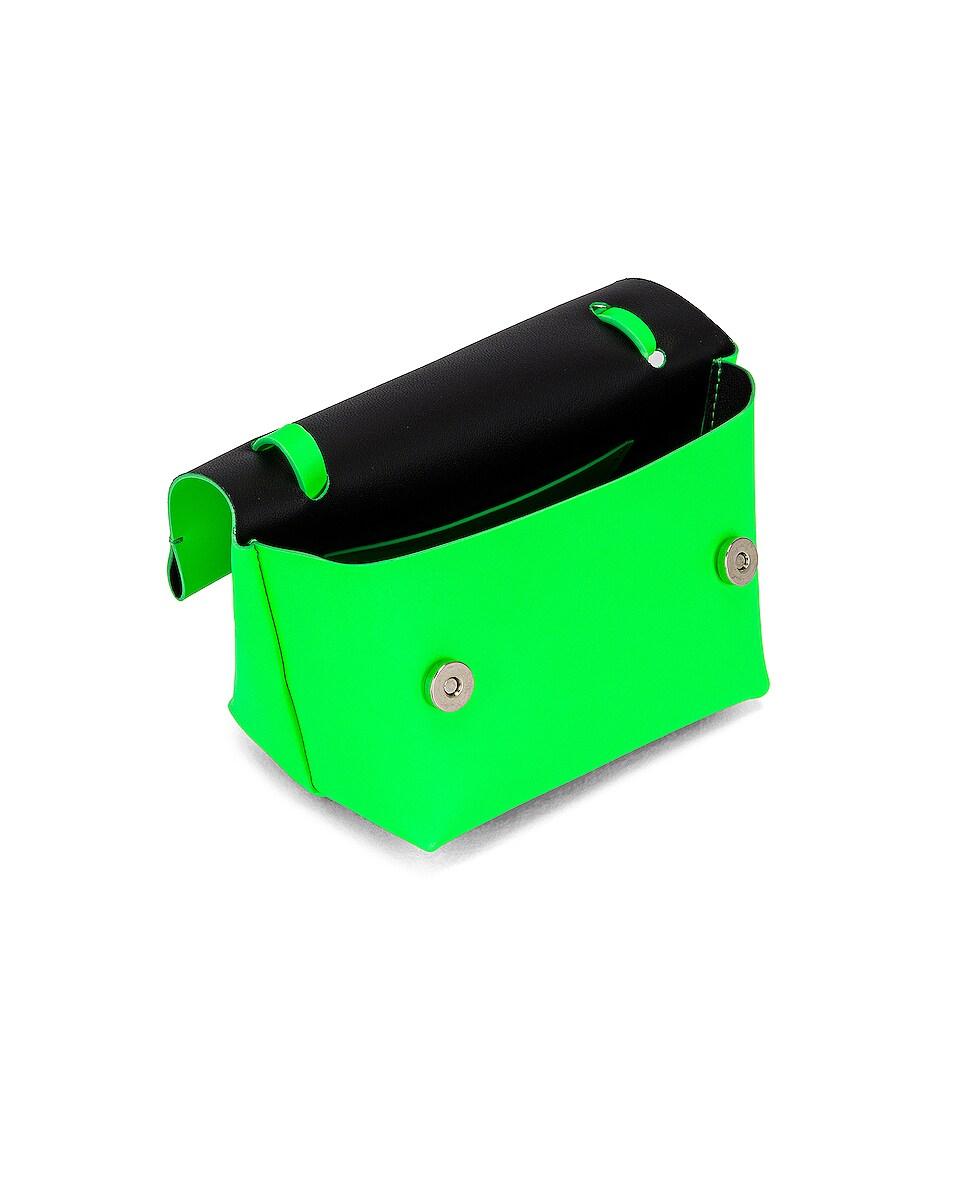 Image 5 of Acne Studios Mini Bag in Fluo Green