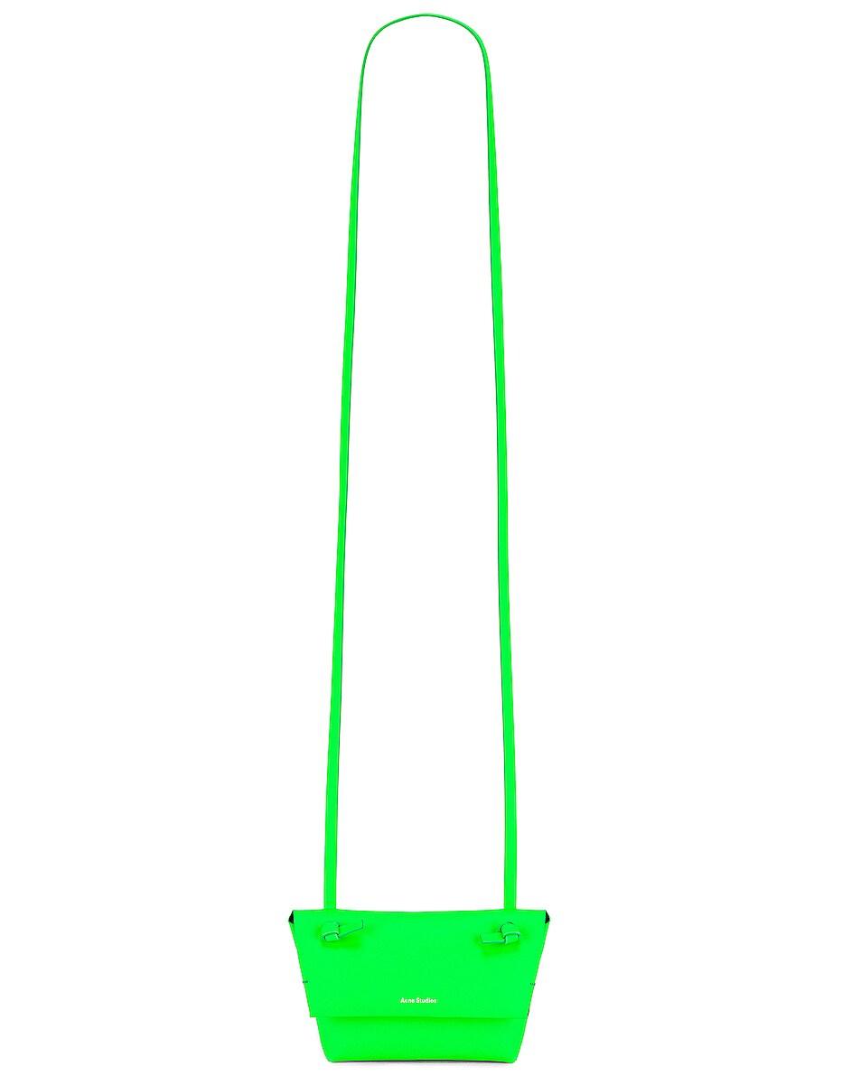 Image 6 of Acne Studios Mini Bag in Fluo Green