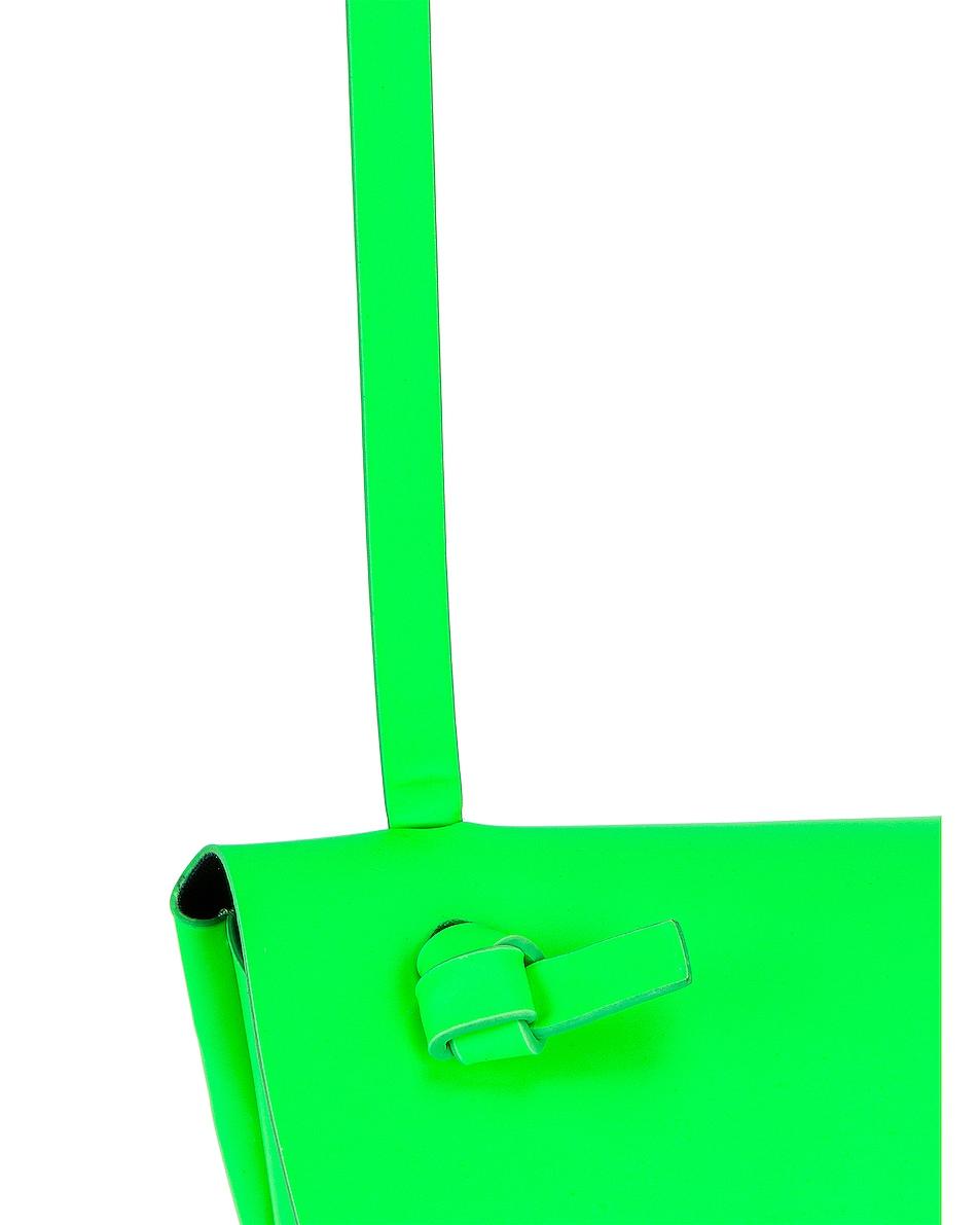 Image 8 of Acne Studios Mini Bag in Fluo Green