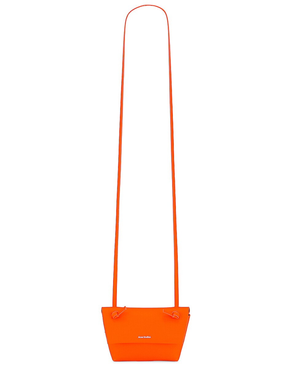 Image 6 of Acne Studios Mini Bag in Fluo Orange