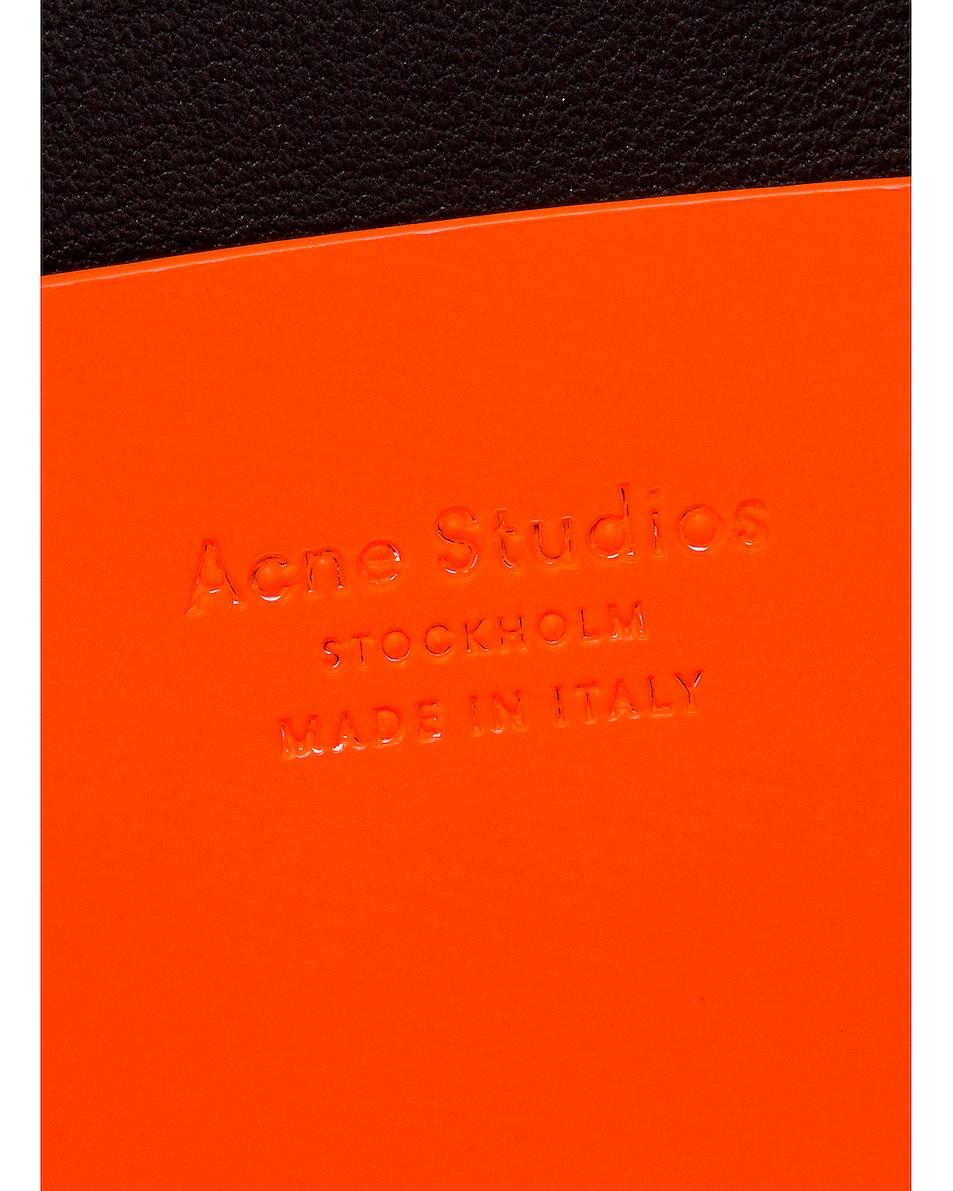 Image 7 of Acne Studios Mini Bag in Fluo Orange