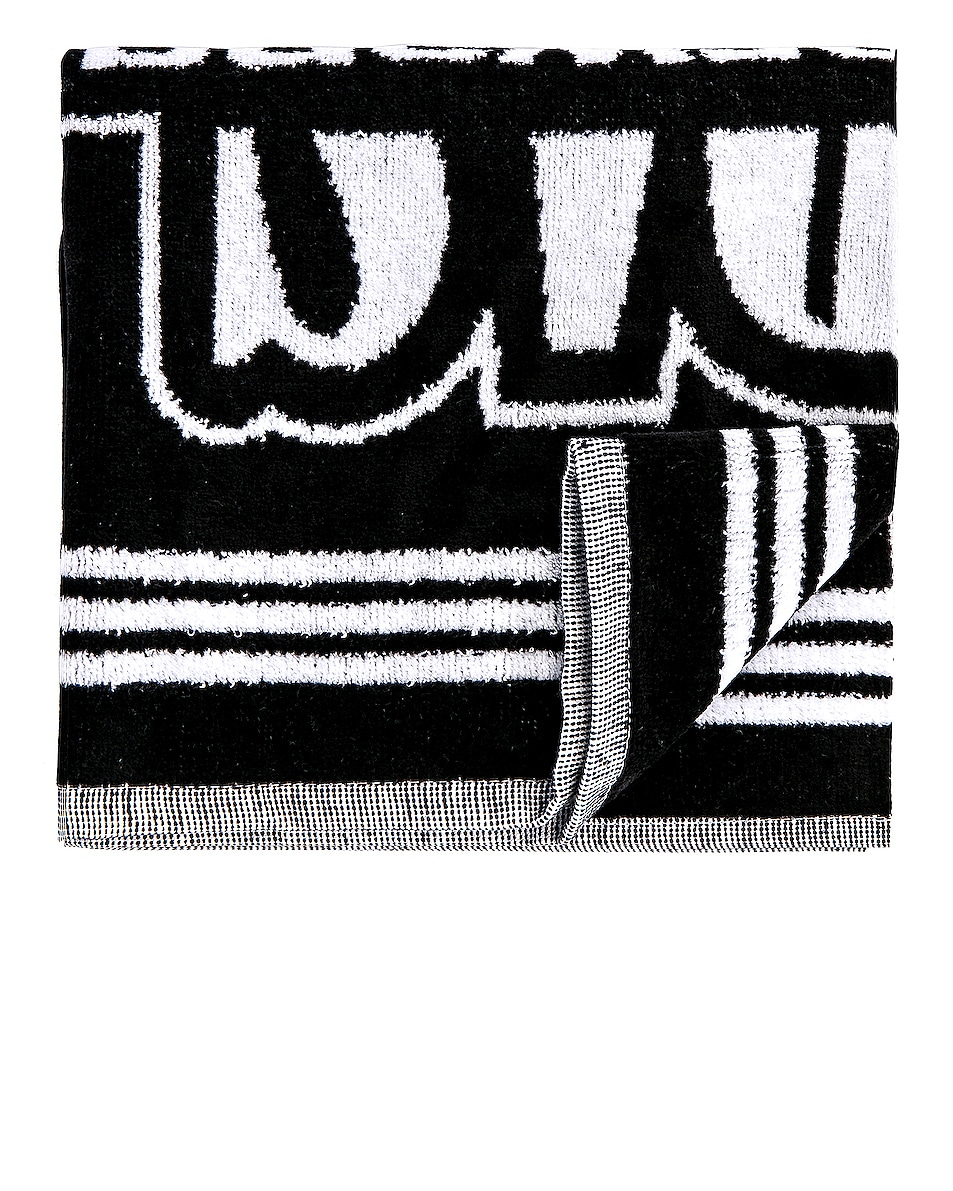 Image 1 of adidas by Alexander Wang Gym Towel in Black