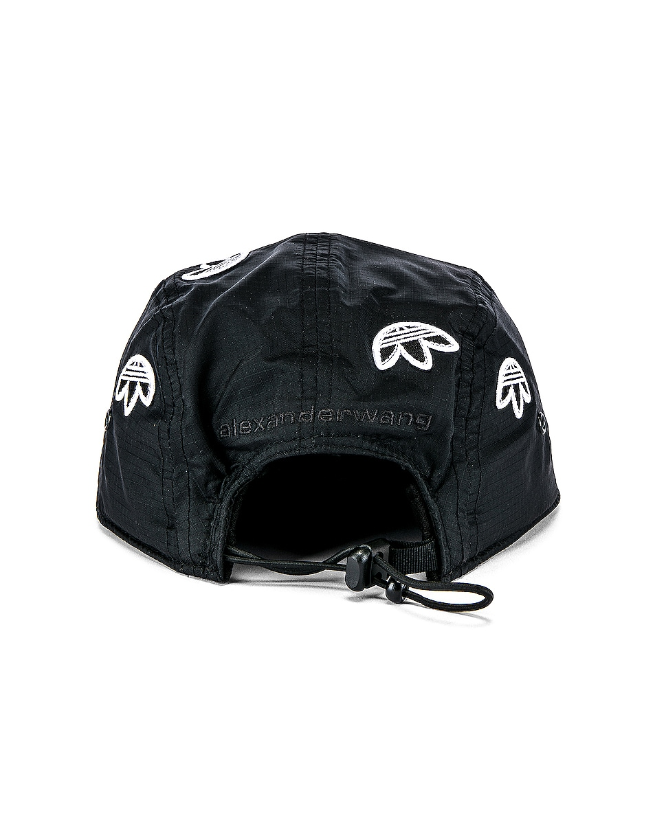 Image 4 of adidas by Alexander Wang Logo Cap in Black