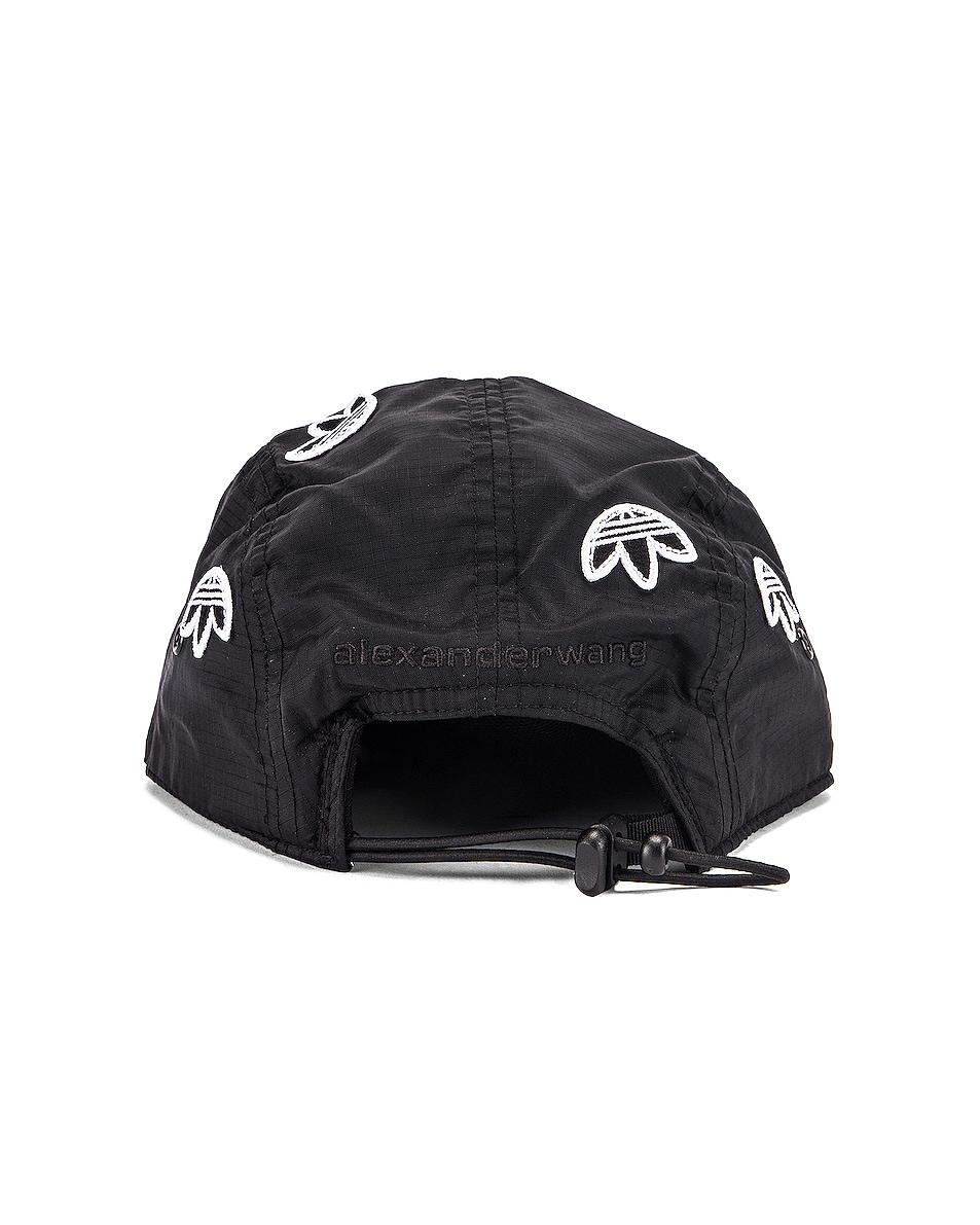 Image 4 of adidas by Alexander Wang Logo Cap in Black