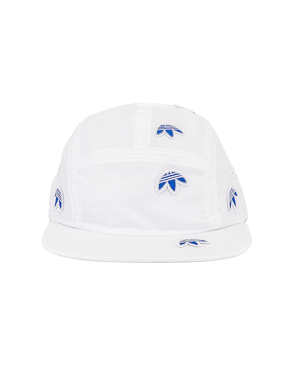 Image 1 of adidas by Alexander Wang Logo Cap in Core White