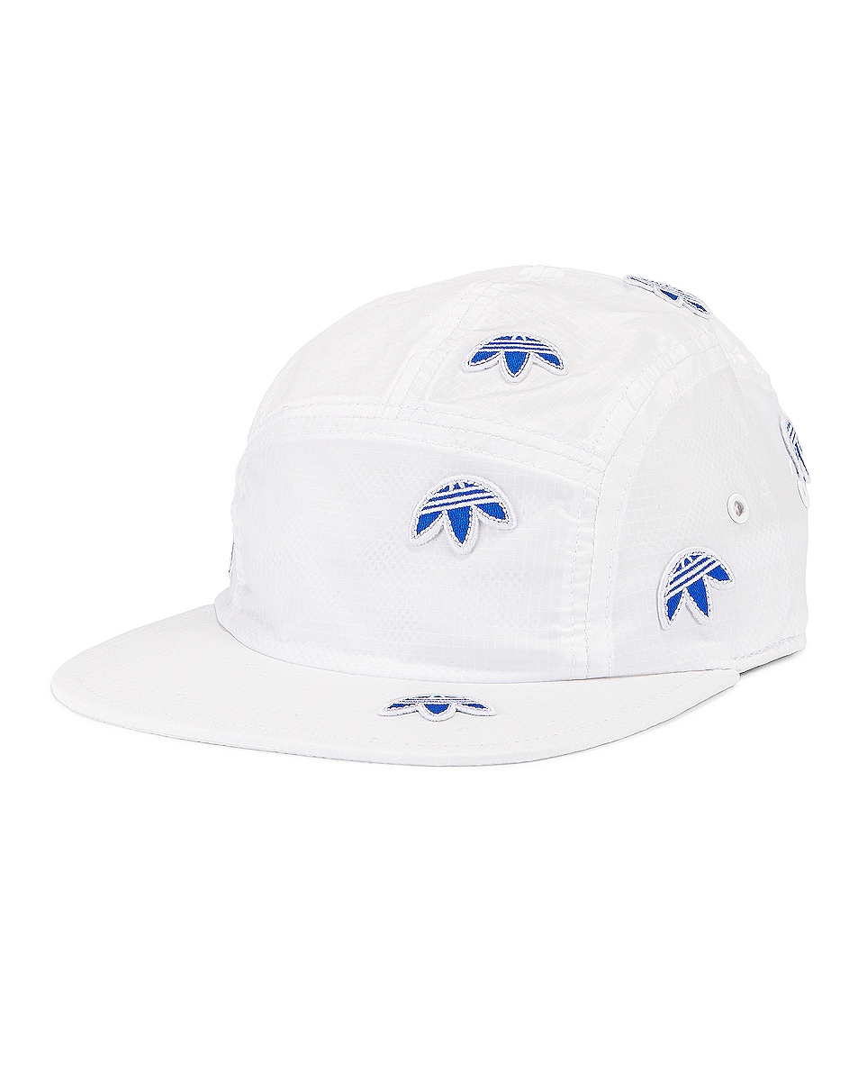 Image 2 of adidas by Alexander Wang Logo Cap in Core White
