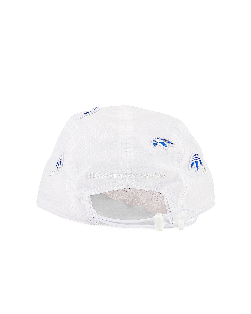 Image 4 of adidas by Alexander Wang Logo Cap in Core White