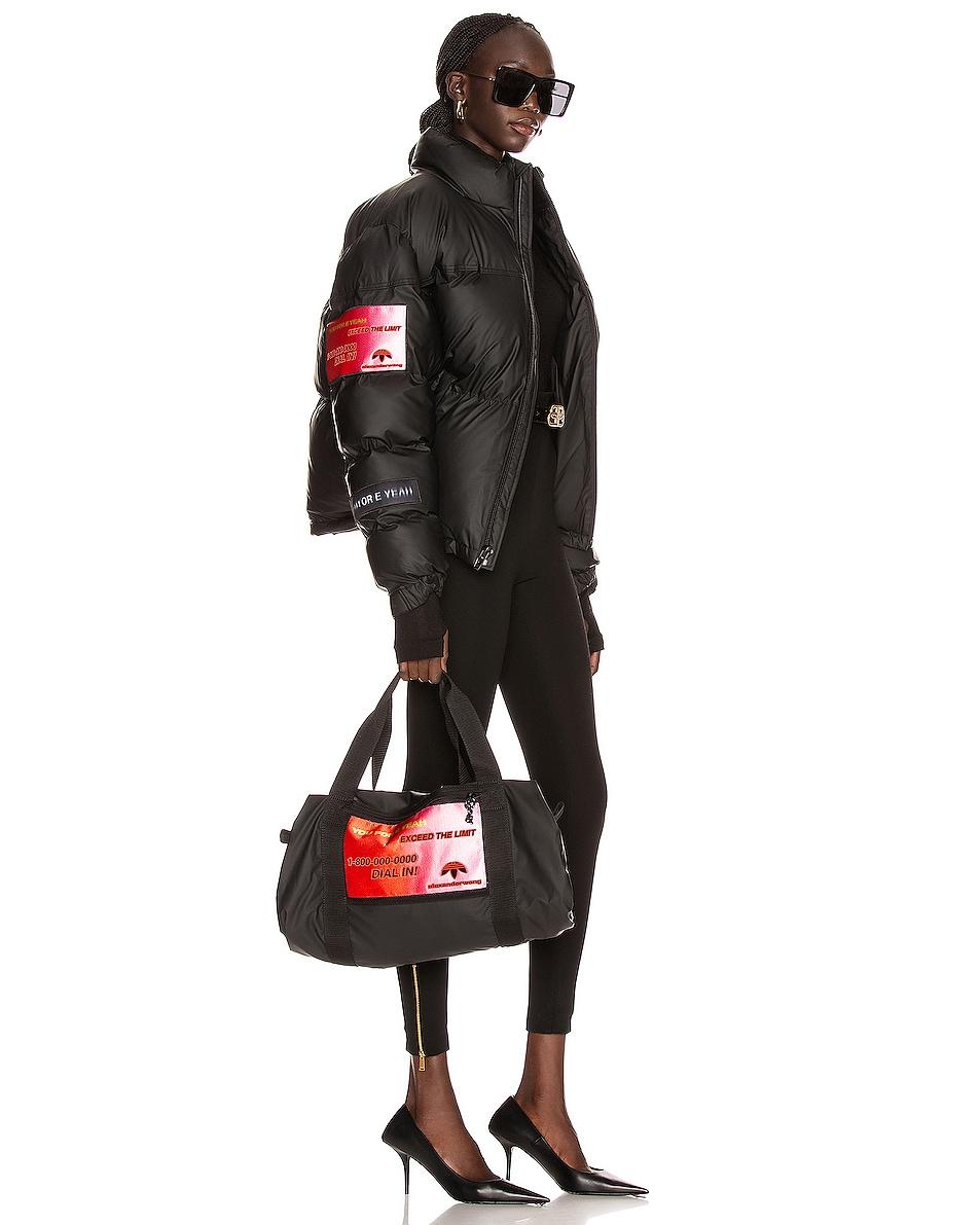 Image 2 of adidas by Alexander Wang AW Duffel Bag in Black