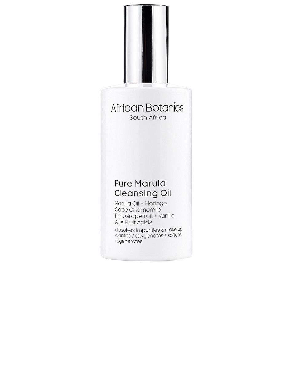 Image 1 of African Botanics Pure Marula Cleansing Oil in