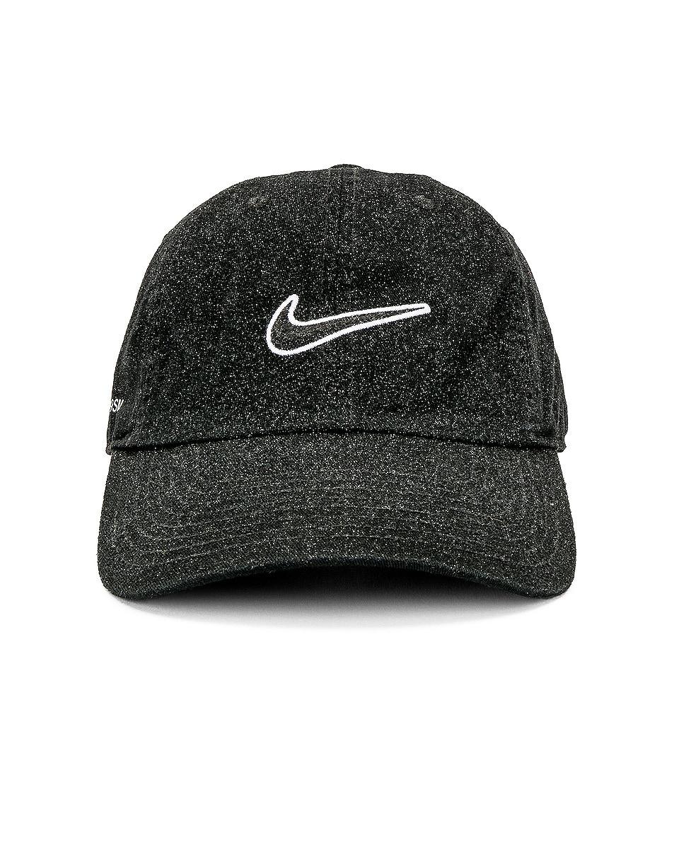44523911d29c43 Image 1 of 1017 ALYX 9SM Nike Glitter Golf Cap in Black