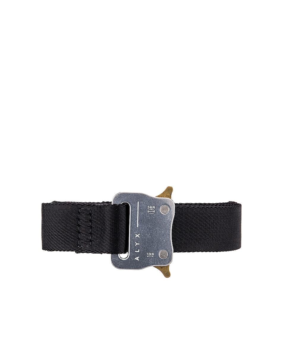 Image 1 of 1017 ALYX 9SM Medium Rollercoaster Belt in Silver