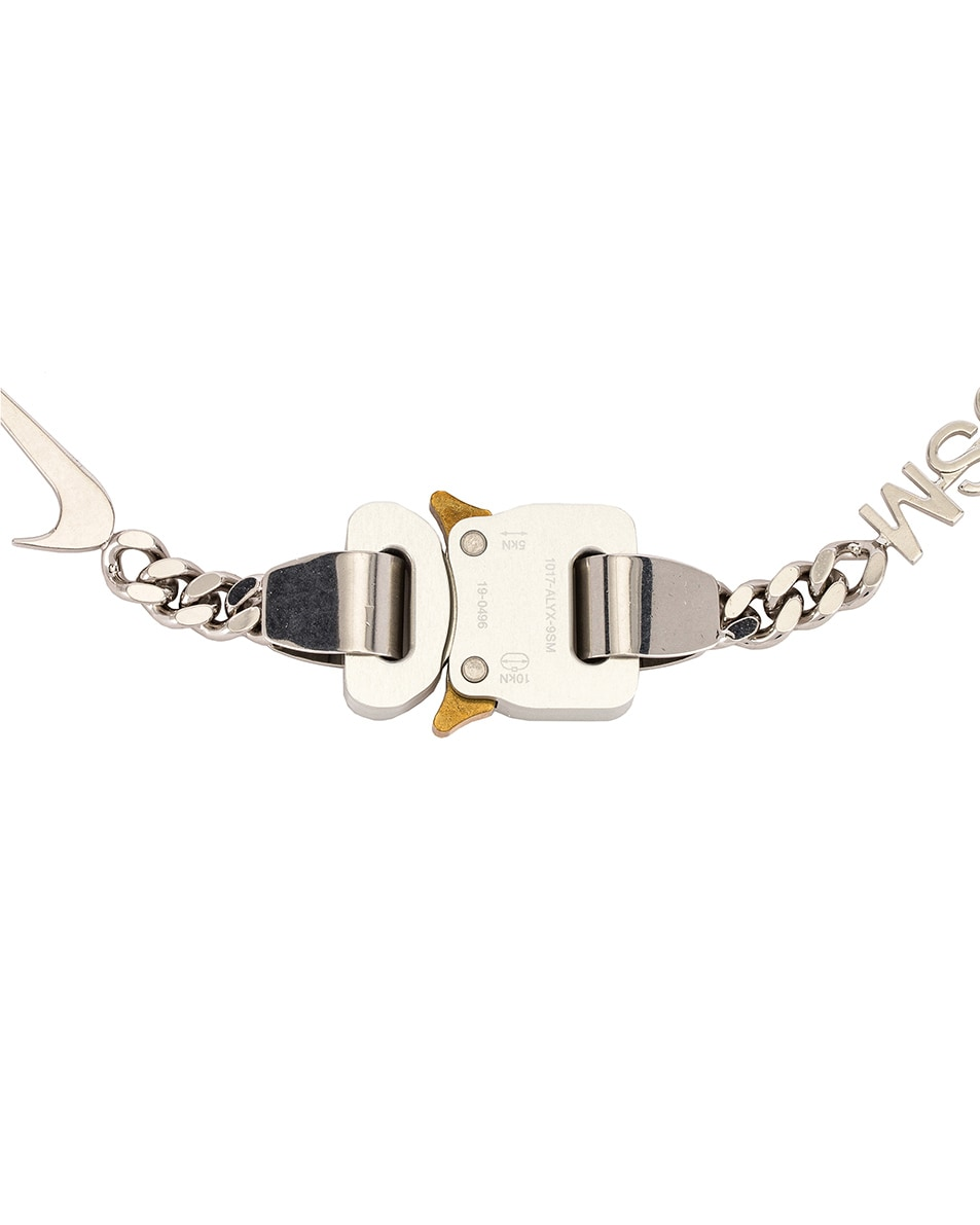 Image 2 of 1017 ALYX 9SM Hero Necklace in Silver