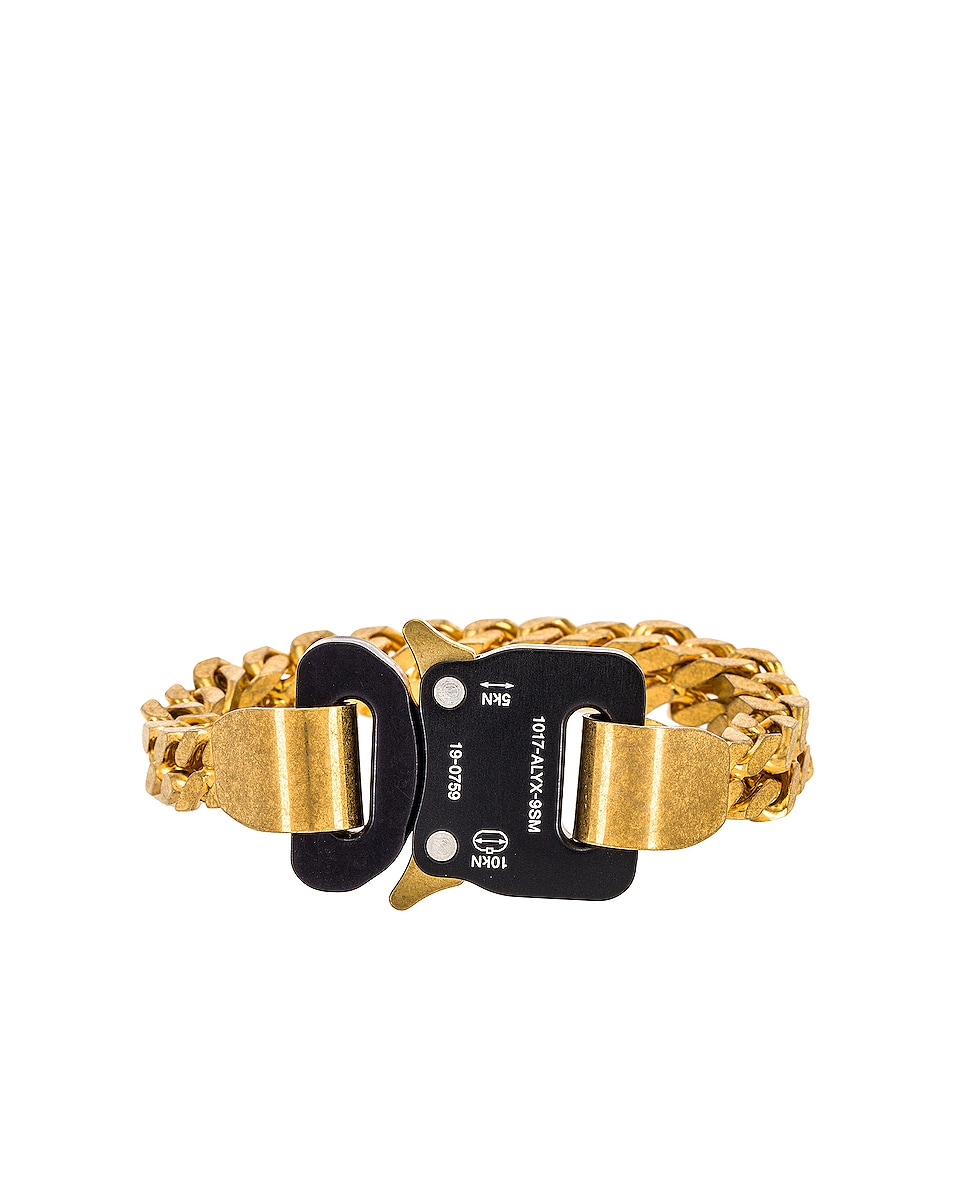 Image 1 of 1017 ALYX 9SM River Link Bracelet in Gold