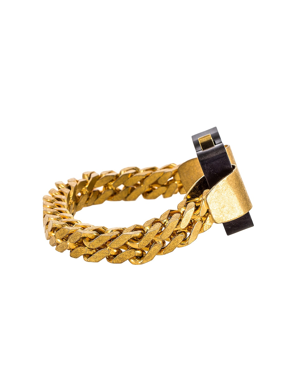 Image 2 of 1017 ALYX 9SM River Link Bracelet in Gold