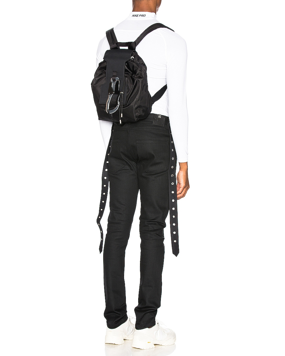 Image 2 of 1017 ALYX 9SM Mackintosh Claw Tank Backpack in Black
