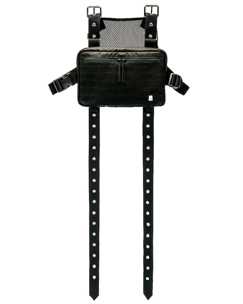 Image 1 of 1017 ALYX 9SM Mackintosh Strap Chest Rig in Black