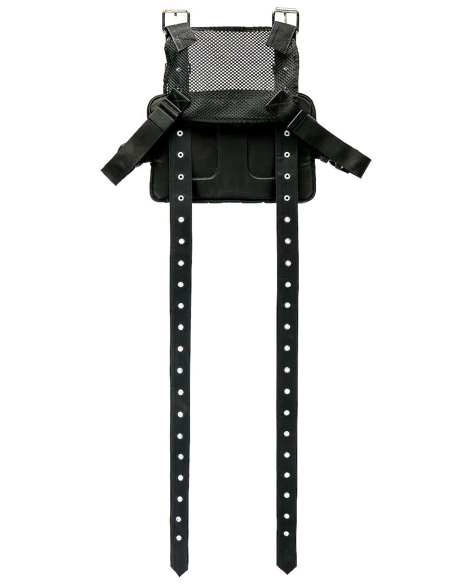 Image 2 of 1017 ALYX 9SM Mackintosh Strap Chest Rig in Black