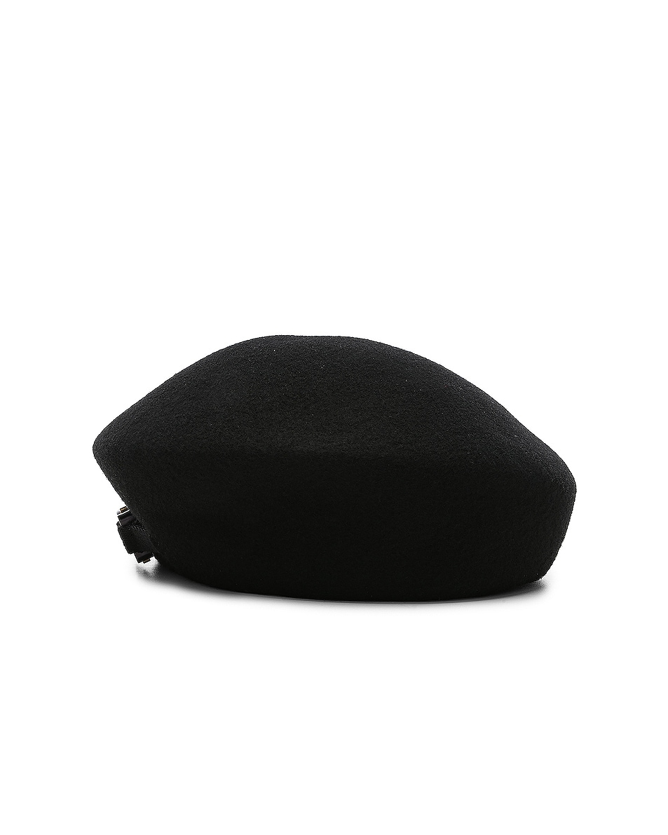 Image 3 of 1017 ALYX 9SM Bardot Beret in Black