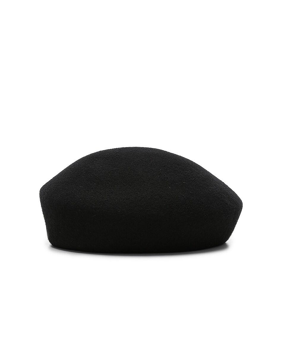 Image 4 of 1017 ALYX 9SM Bardot Beret in Black