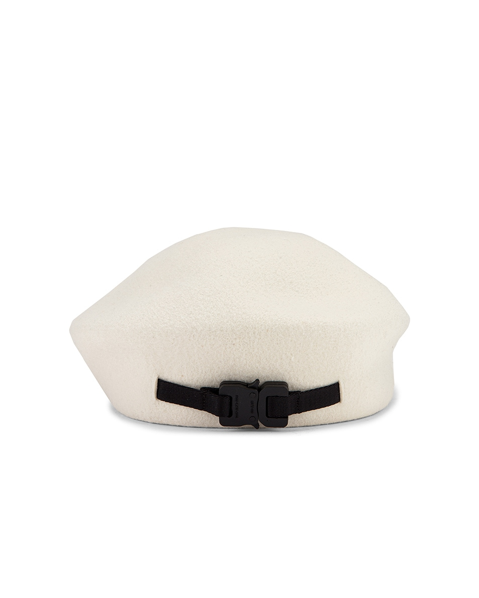 Image 1 of 1017 ALYX 9SM Bardot Beret in White