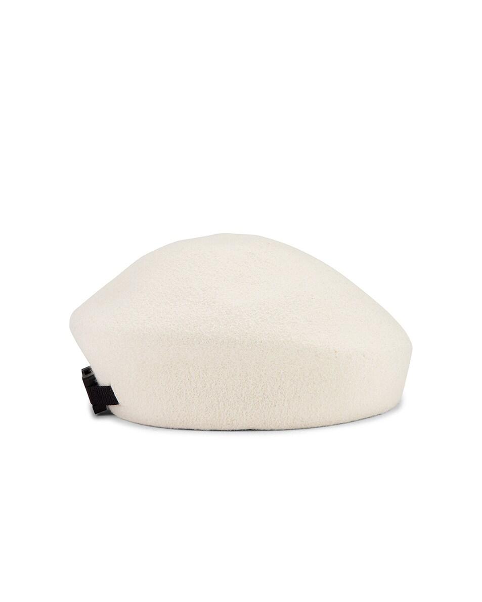 Image 3 of 1017 ALYX 9SM Bardot Beret in White
