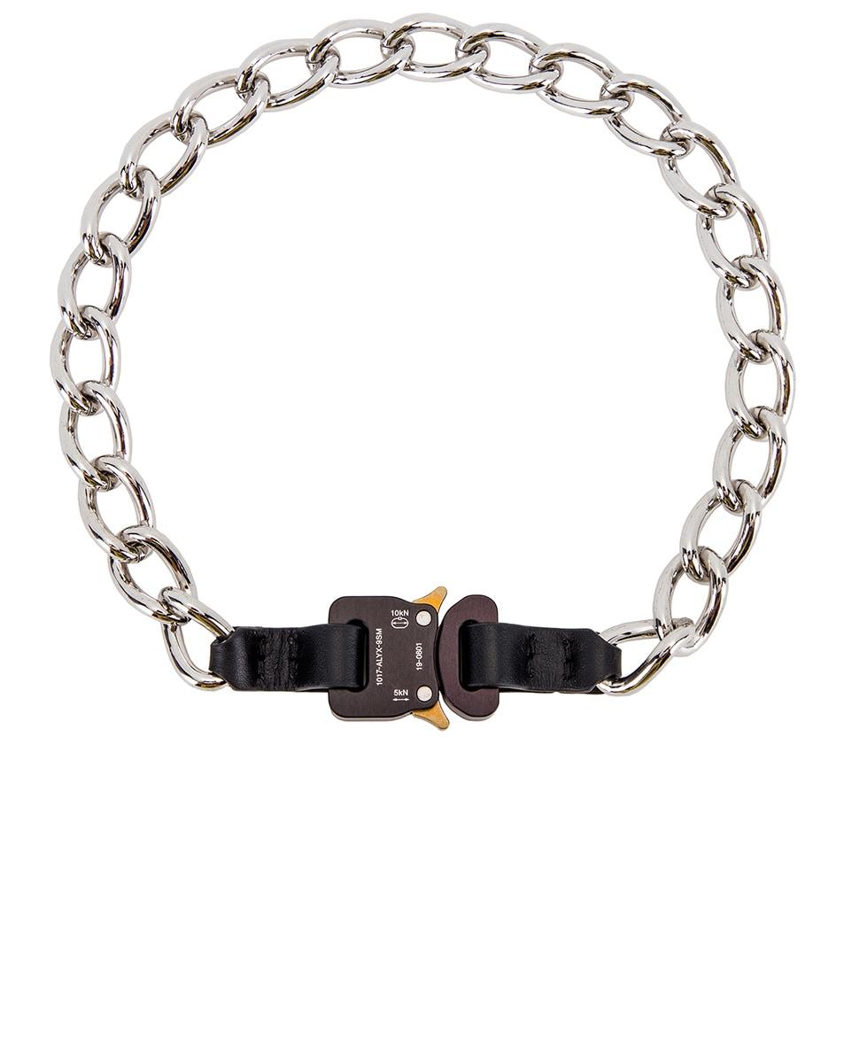Image 1 of 1017 ALYX 9SM Chainlink Necklace in Black