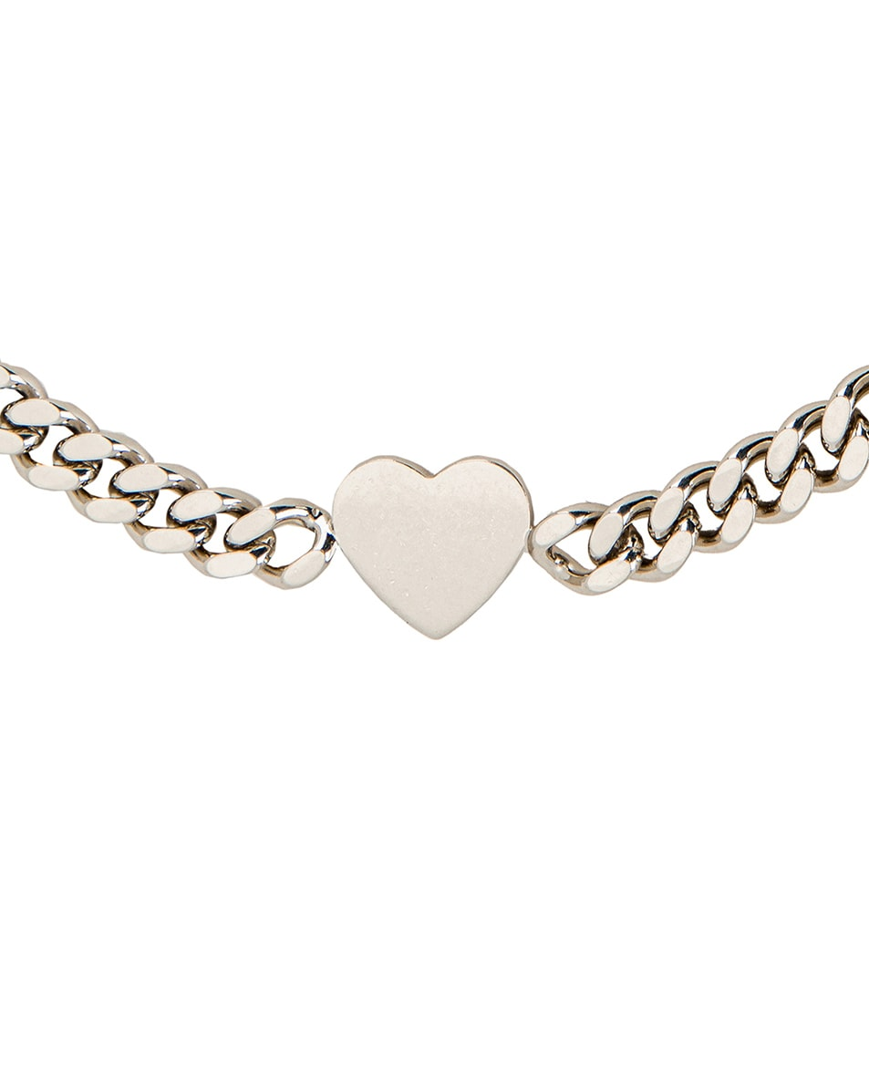 Image 3 of 1017 ALYX 9SM Hero Charm Necklace in Silver