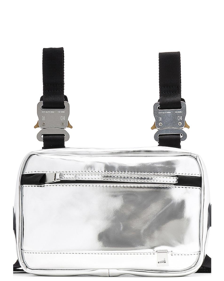 Image 1 of 1017 ALYX 9SM Mini Chest Rig in Silver