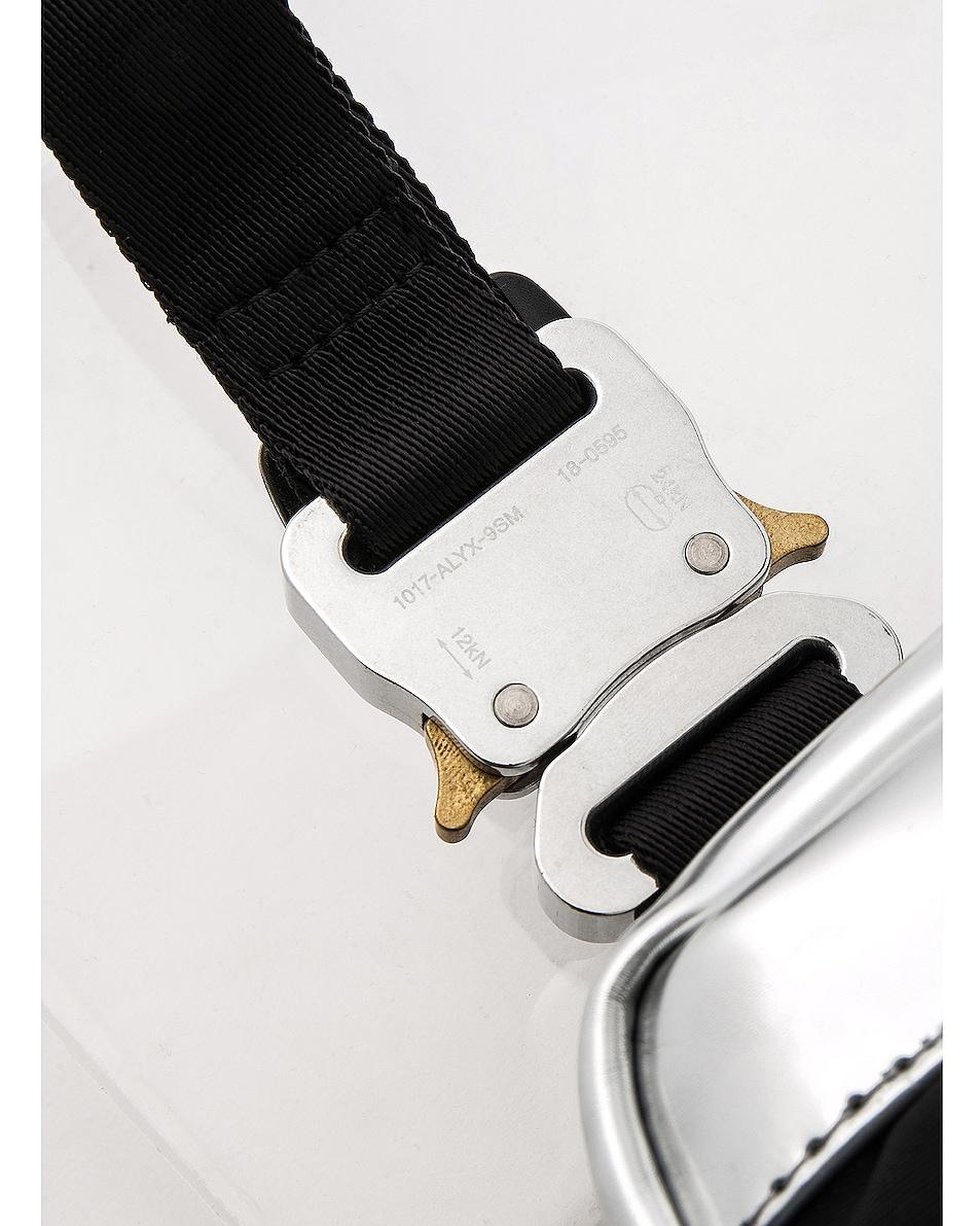 Image 7 of 1017 ALYX 9SM Mini Chest Rig in Silver