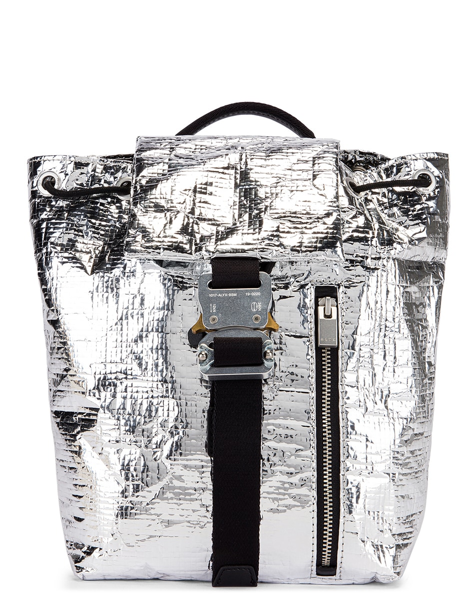 Image 1 of 1017 ALYX 9SM Small Tank Backpack in Silver