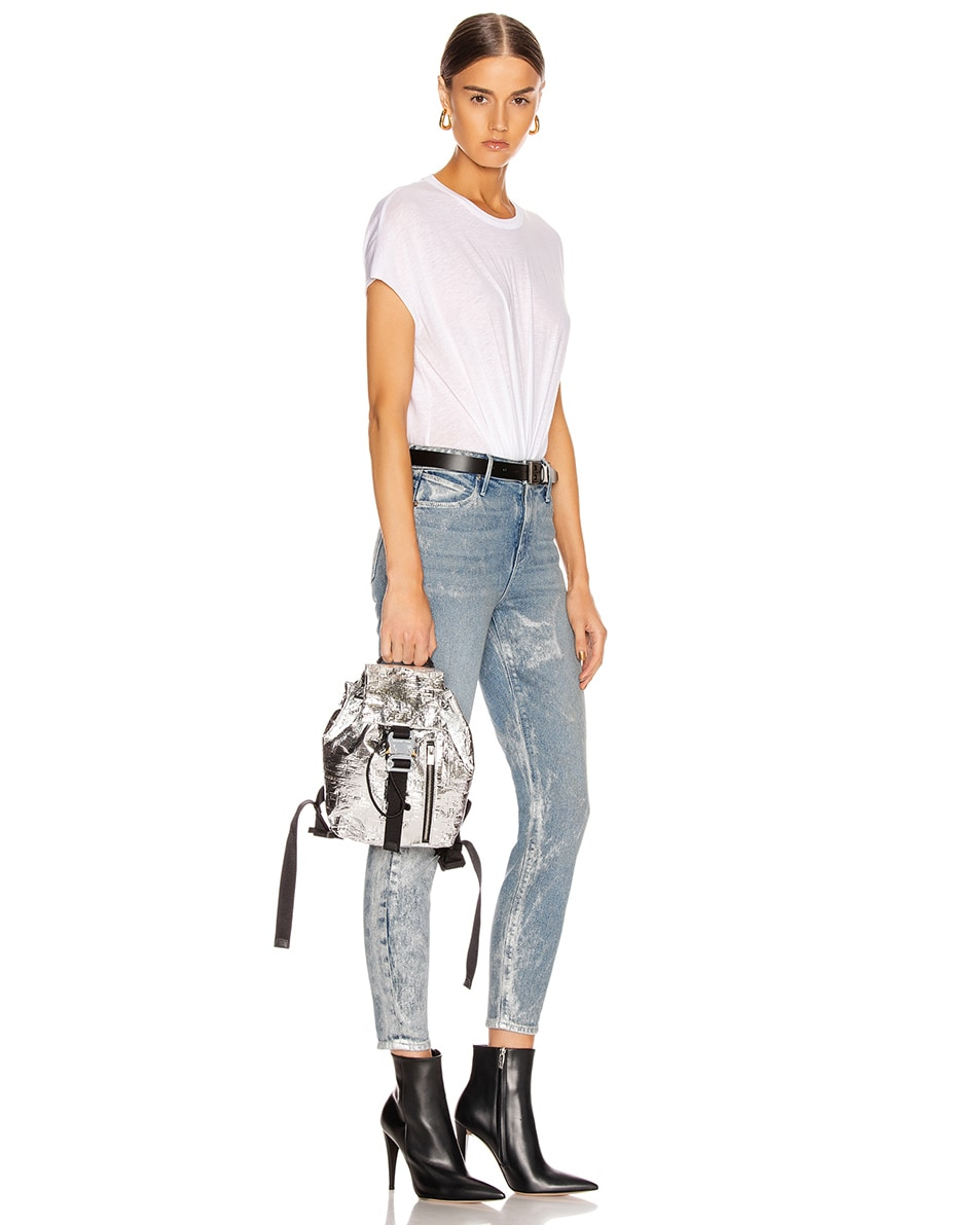 Image 2 of 1017 ALYX 9SM Small Tank Backpack in Silver
