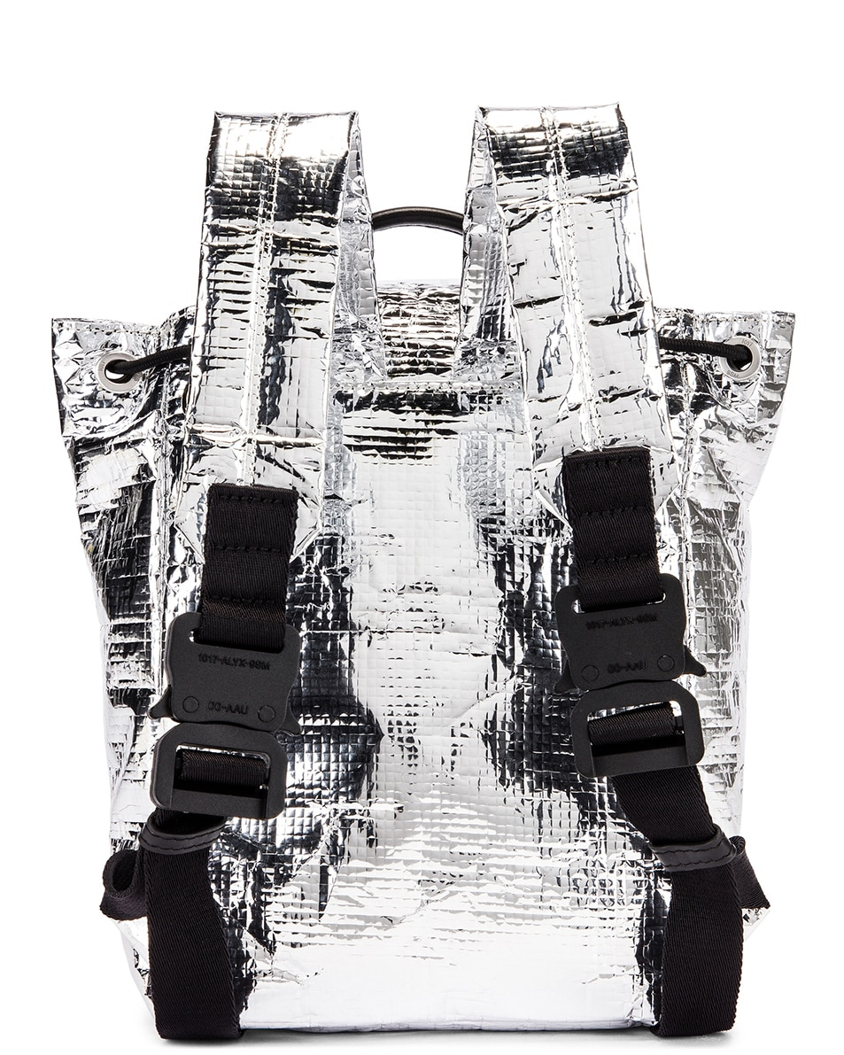 Image 3 of 1017 ALYX 9SM Small Tank Backpack in Silver