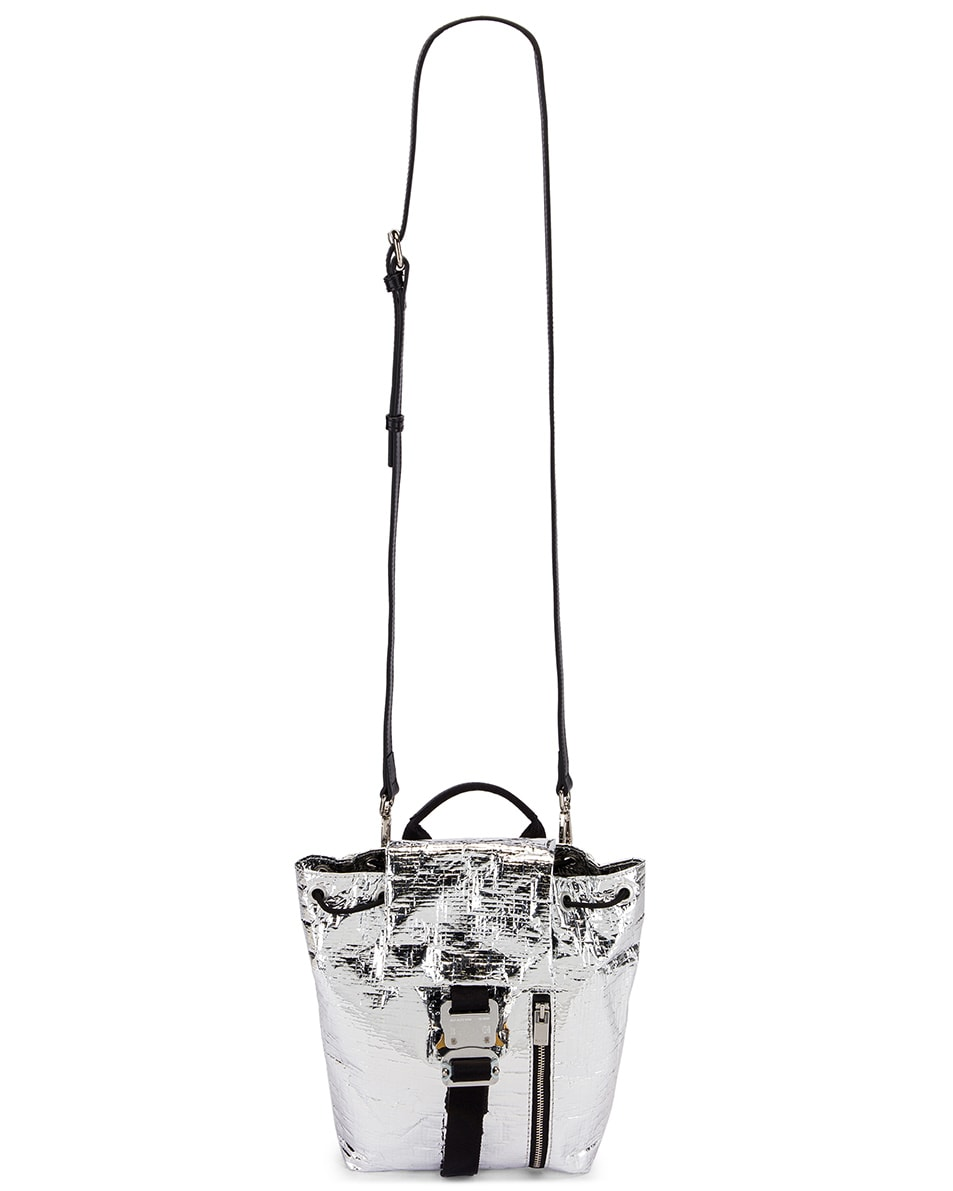 Image 6 of 1017 ALYX 9SM Small Tank Backpack in Silver