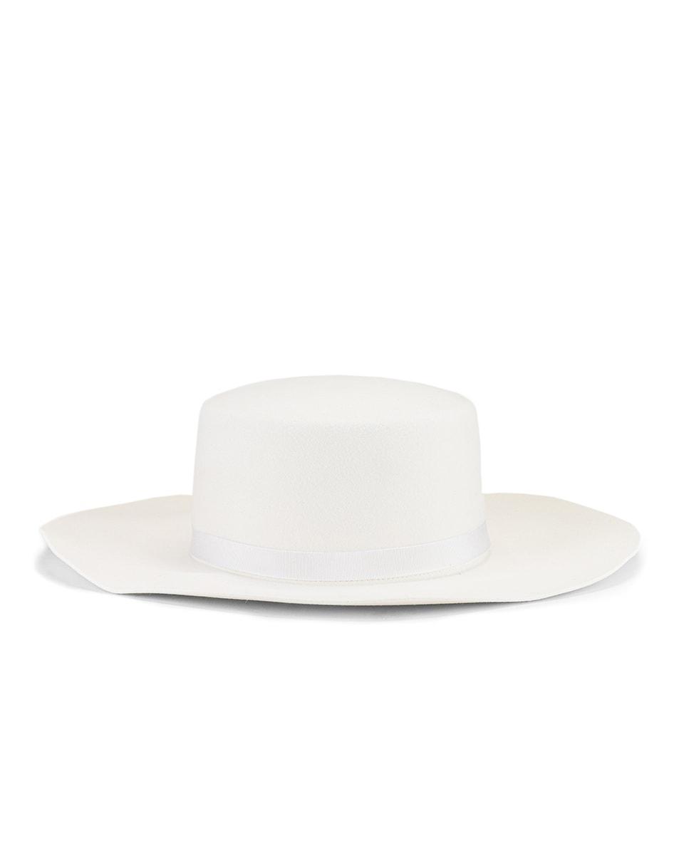 Image 1 of ALBERTA FERRETTI Circle Hat in White