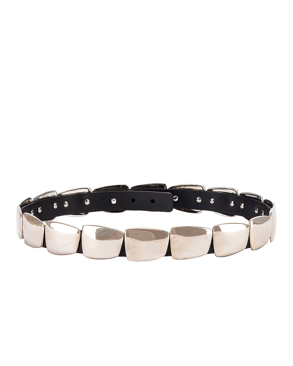 Image 3 of ALBERTA FERRETTI Metal Belt in Black