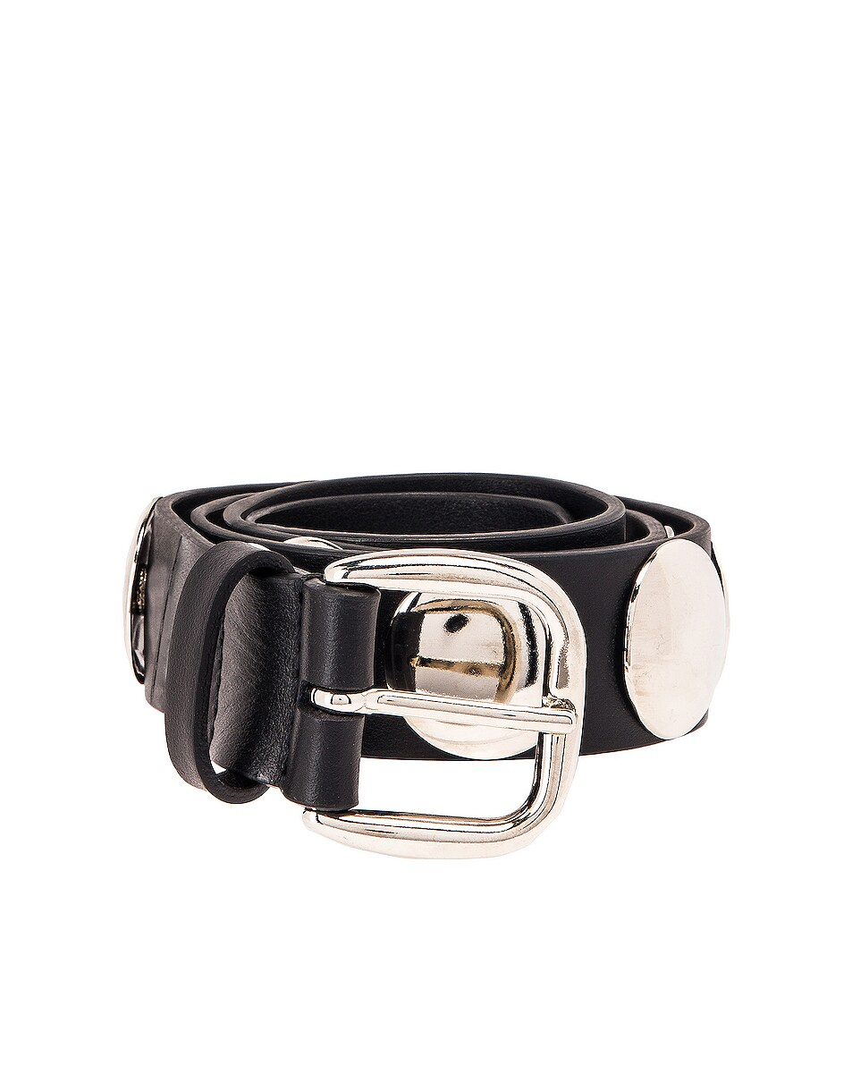 Image 1 of ALBERTA FERRETTI Stud Belt in Black
