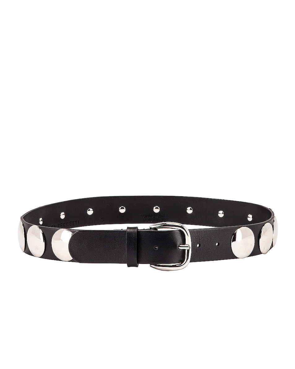 Image 2 of ALBERTA FERRETTI Stud Belt in Black