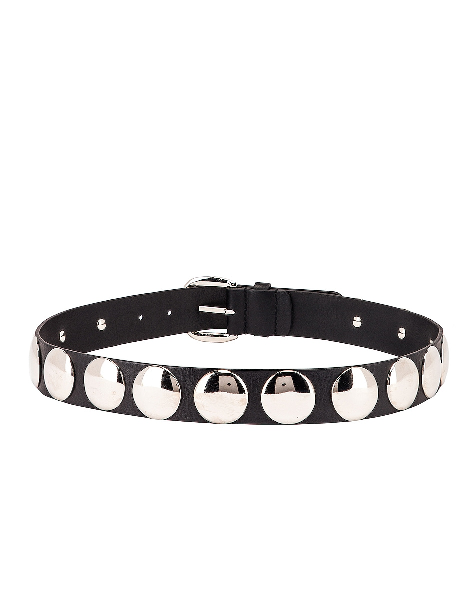 Image 3 of ALBERTA FERRETTI Stud Belt in Black
