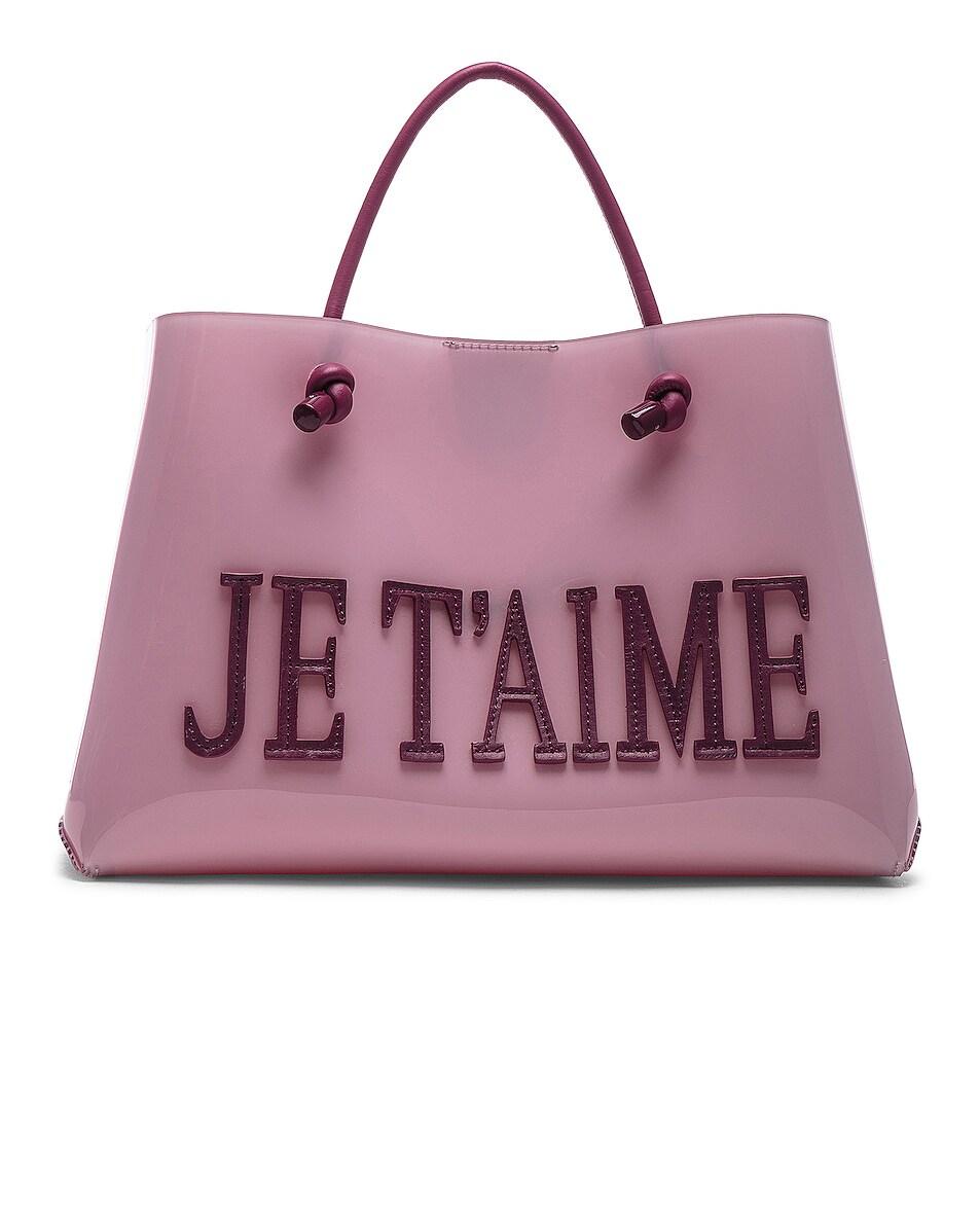 Image 1 of ALBERTA FERRETTI Je Taime Small Tote in Pink