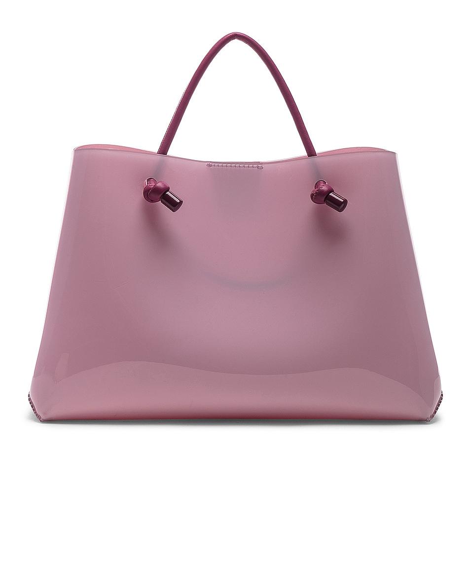 Image 3 of ALBERTA FERRETTI Je Taime Small Tote in Pink