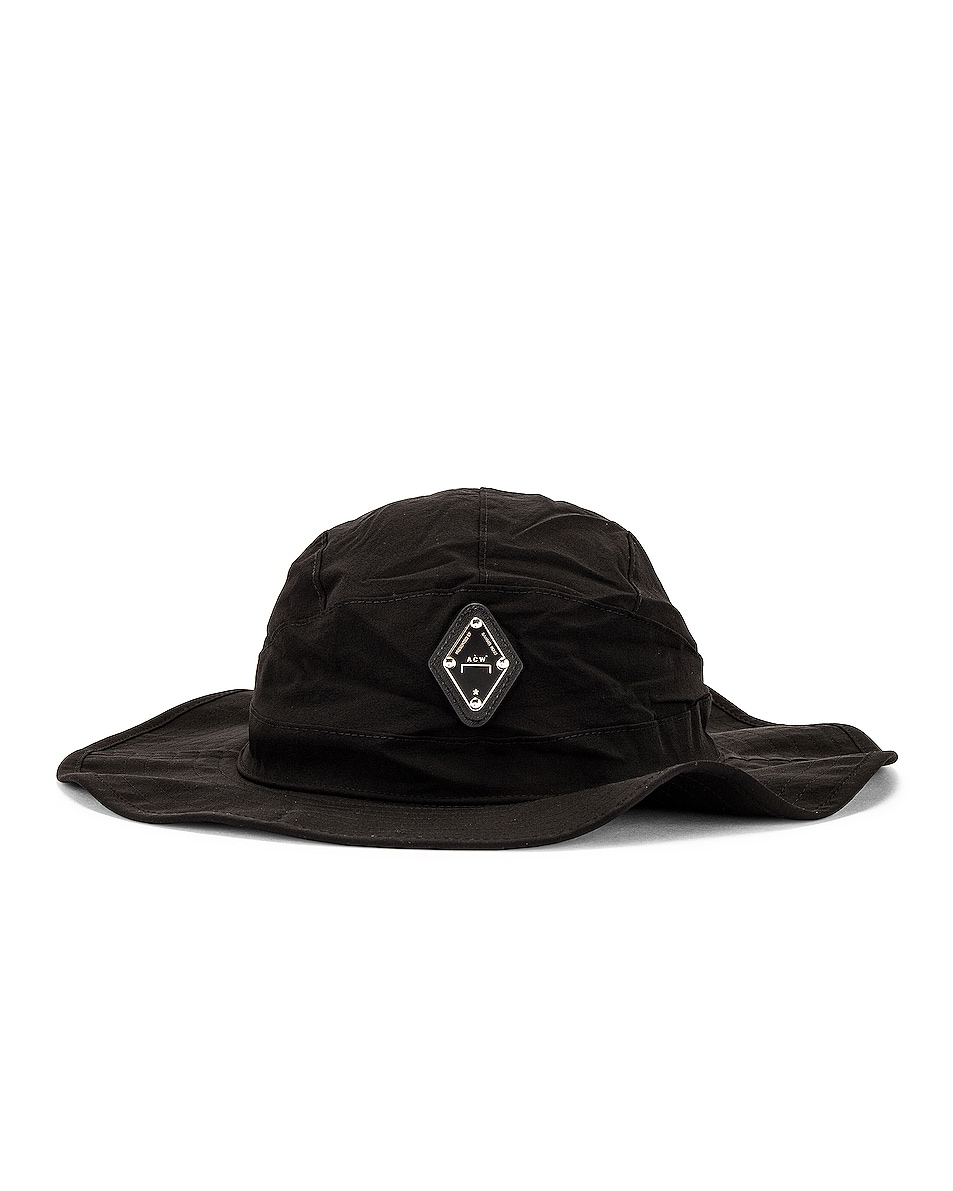 Image 1 of A-COLD-WALL* Rhombus Bucket Hat in Black