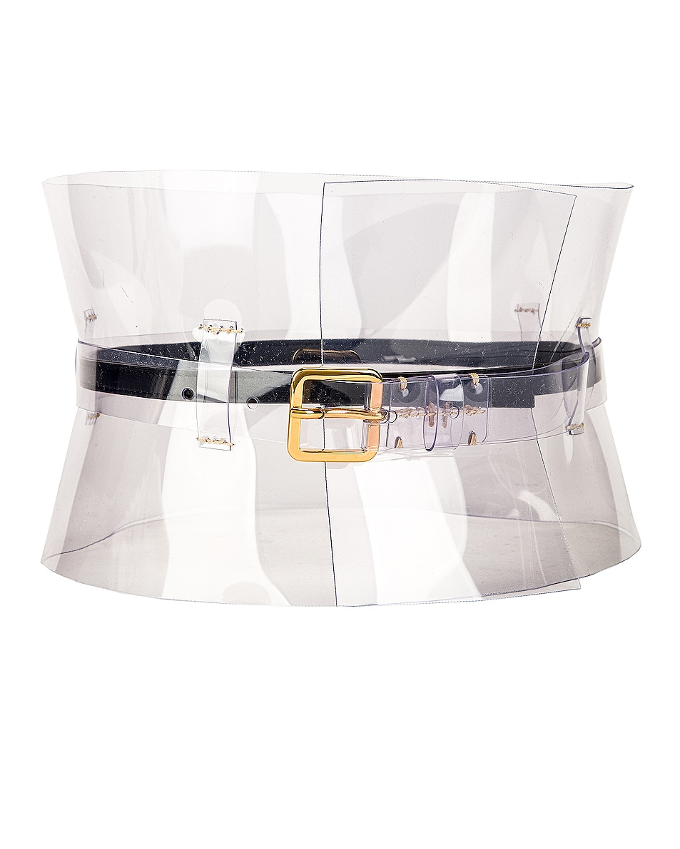 Image 1 of Altuzarra Obie Corset Belt in Clear
