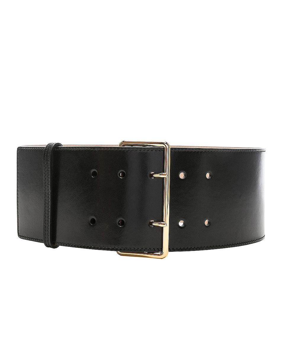 Image 1 of Alexander McQueen Military Belt in Black