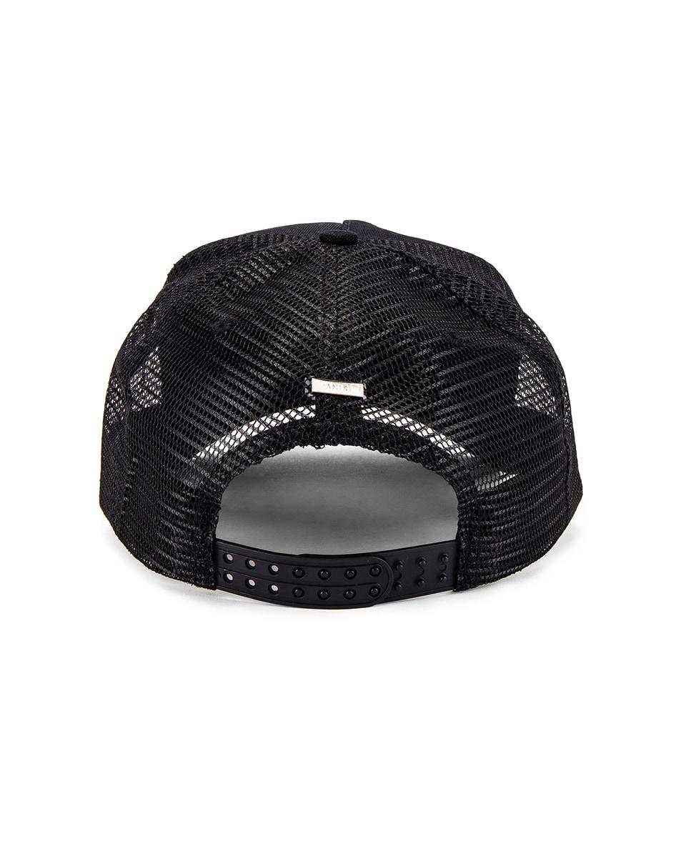 Image 4 of Amiri Motley Crue Trucker Hat in Black